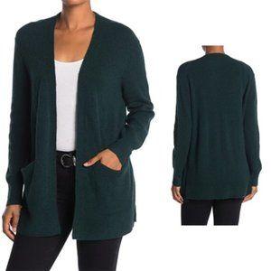 Madewell BNWT cardigan NEW green front pockets